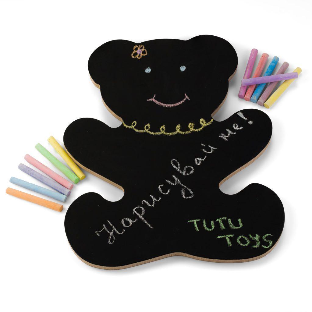 bear black desk